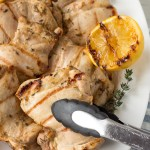 grilled dijon chicken