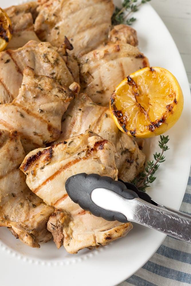 grilled dijon chicken