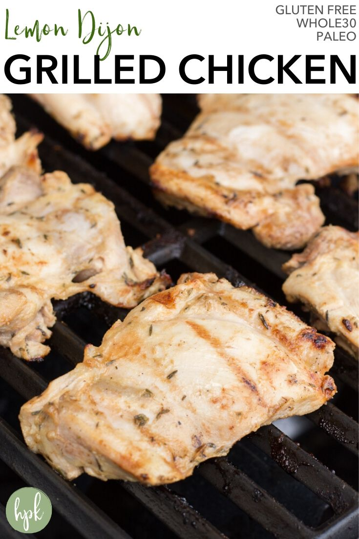 pin for grilled dijon chicken thighs