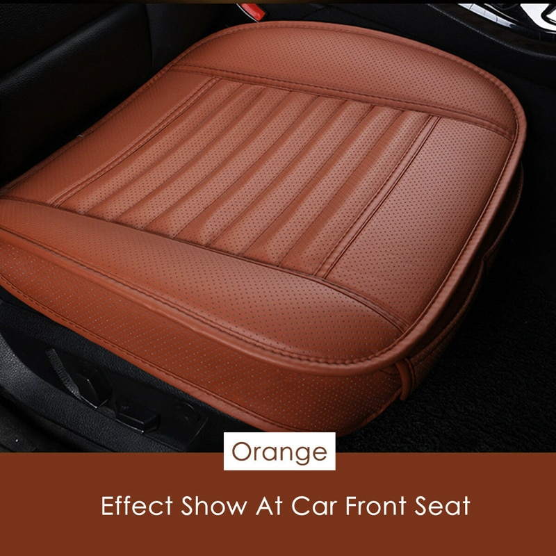 1x Breathable Car Front Seat Cushion Protector Pad Driver Mat Covers Universal