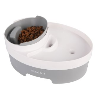 105oz/3.0L Automatic Cat Water Fountain Dog Water Dispenser with food bowl for Cats, Dogs