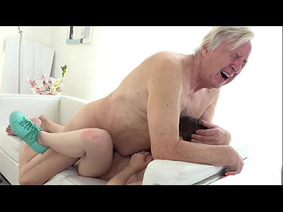 Old Pepper Fucks Young Petite Teen