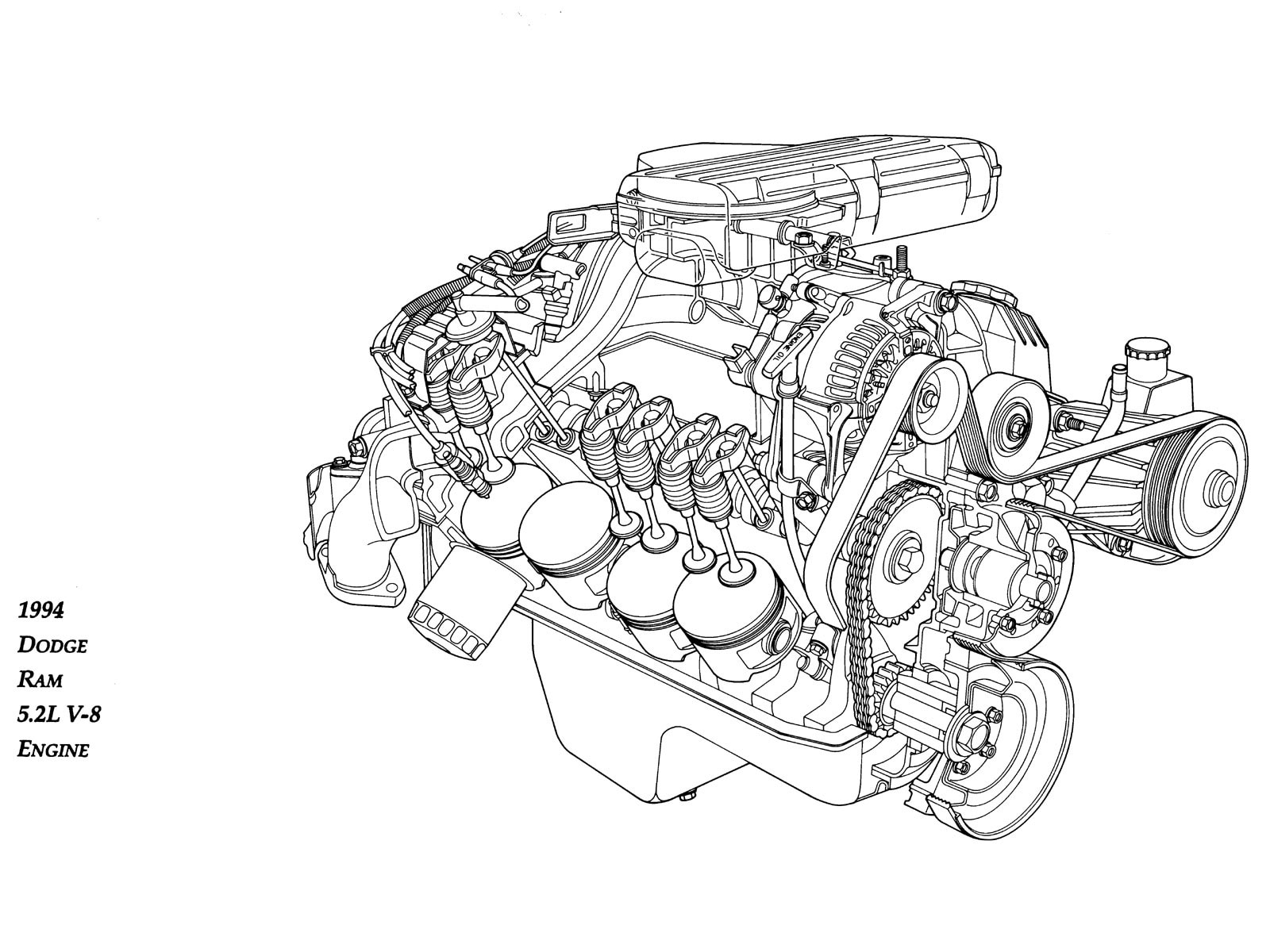 Chrysler 360 380 A Series Crate Engine