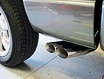 2005 dodge ram 1500 exhaust system on
