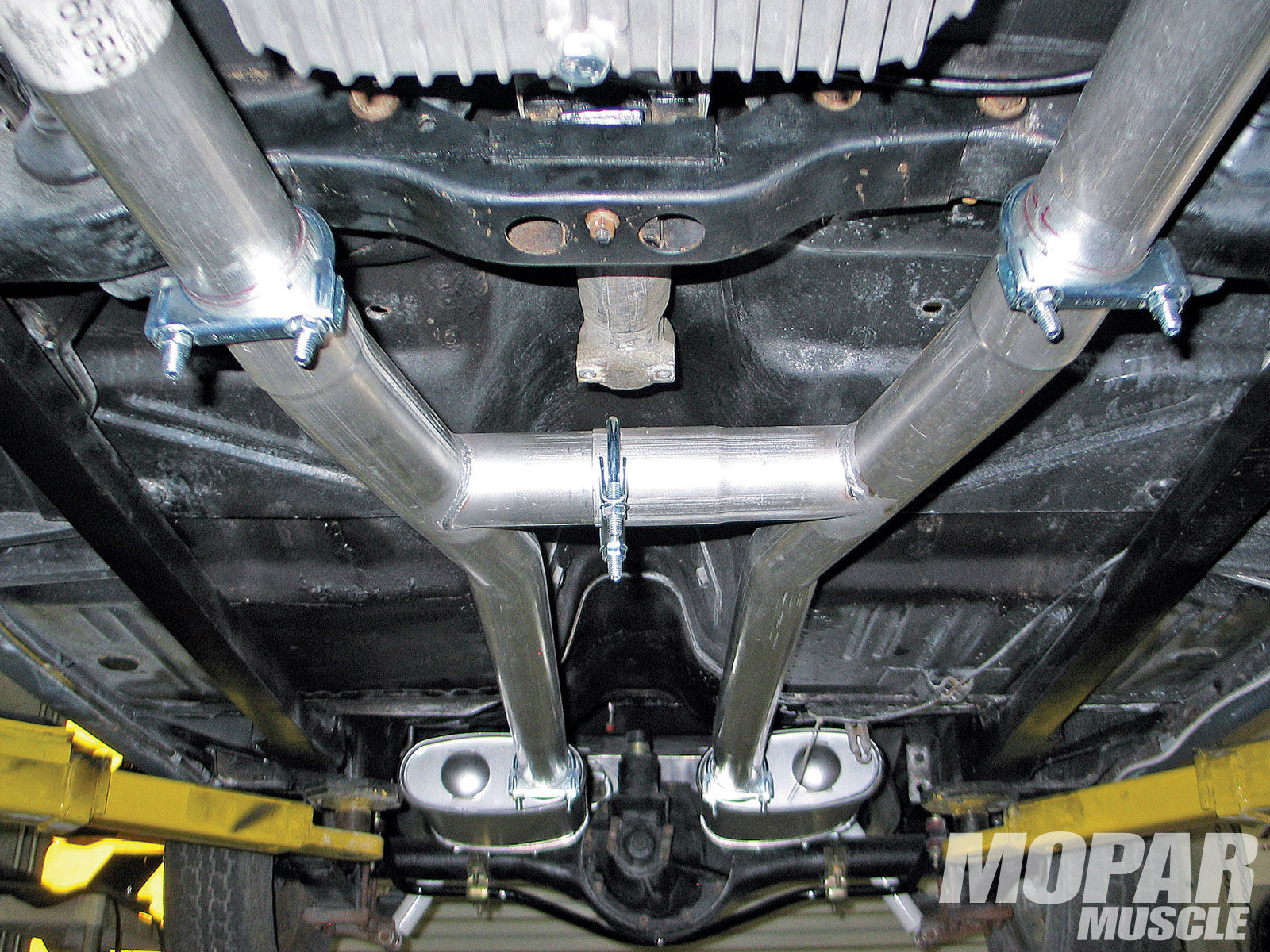 installing tti s dual exhaust pipes a