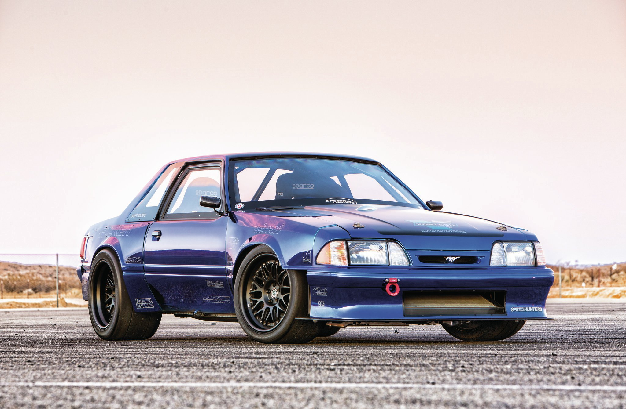 1990 ford mustang top notch