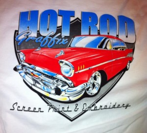 hot rod graffix red