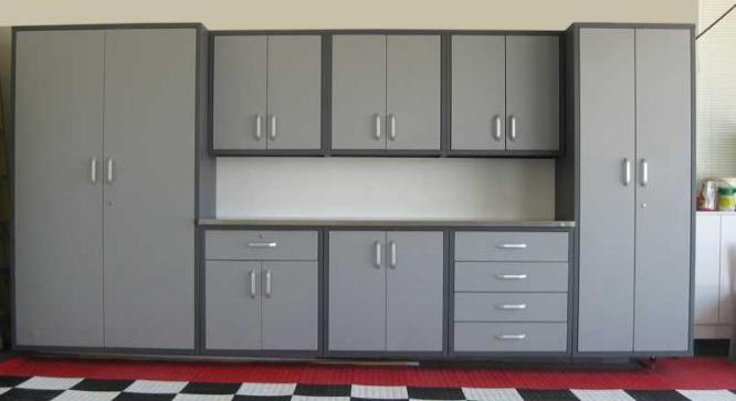 Saber Steel Garage Cabinets