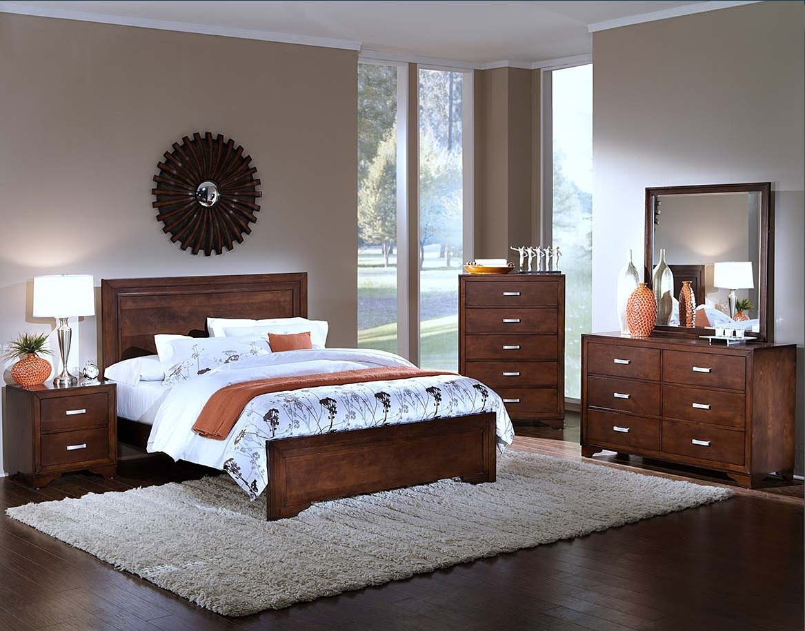 Transitional Style Eastern King Size Bed Bedroom Furniture