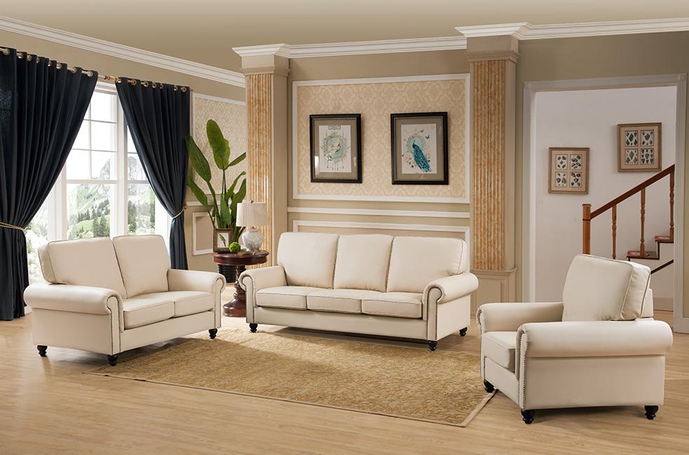 3pc sofa cream contemporary living room set hot sectionals