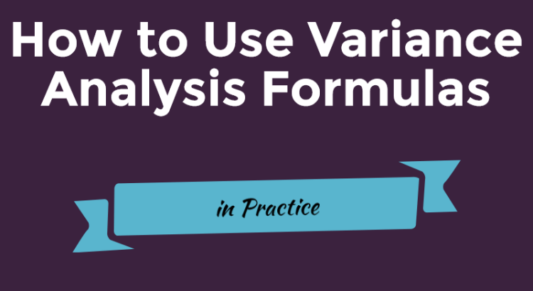 Title picture of Variance analysis formulas article
