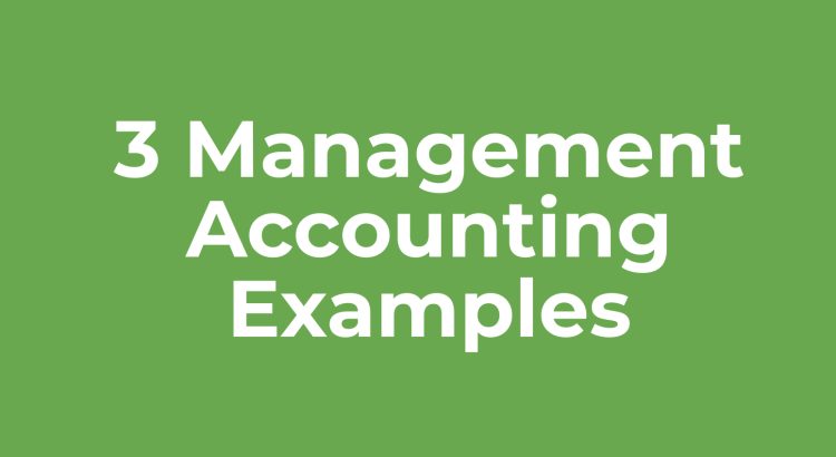 Title image to management accounting examples