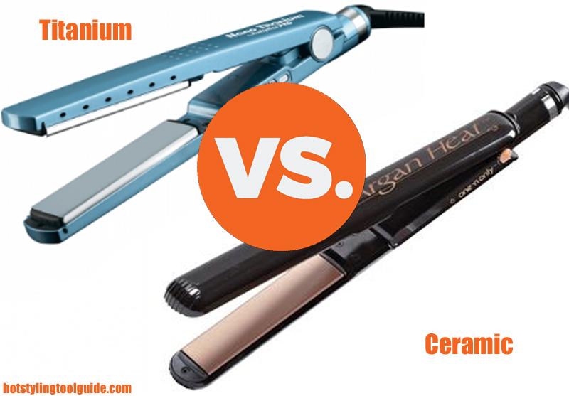 Ceramic vs. Titanium Flat Irons – Which