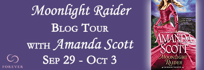 MOONLIGHT RAIDER by Amanda Scott