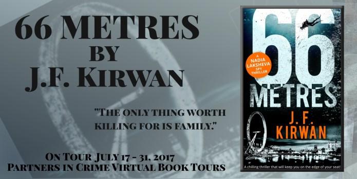 66 Metres by J F Kirwan tour Banner