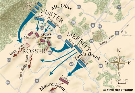 The Battle of Toms Brook