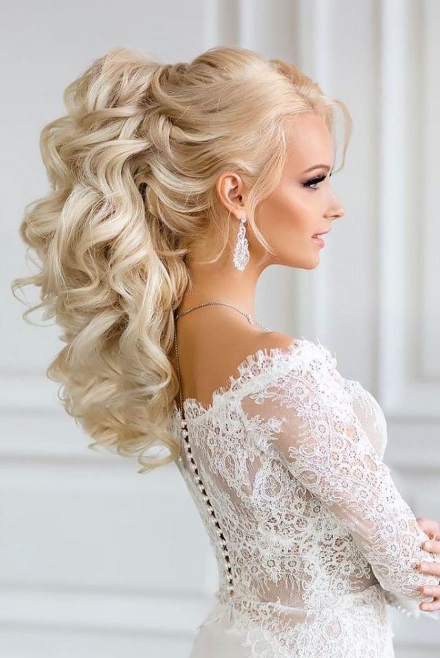 25 most elegant looking curly wedding hairstyles - haircuts