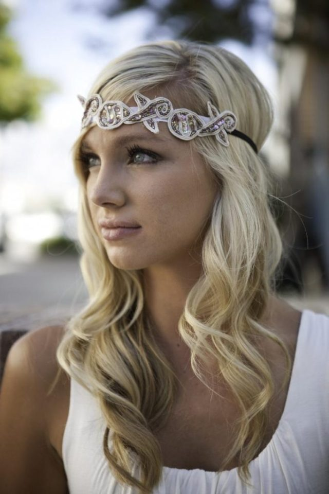 25 most coolest wedding hairstyles with headband - haircuts
