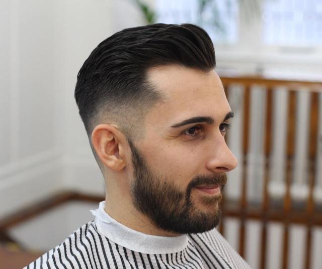15 men's hairstyles for a receding hairline - haircuts