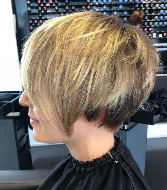 21 most exclusive wedge haircuts for women - haircuts