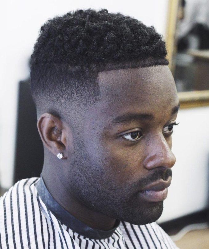 25 taper fade haircuts for black men - fades for the dark