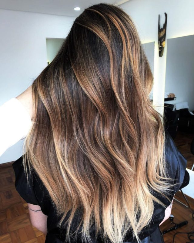 18 extraordinary long hairstyles with highlights - haircuts