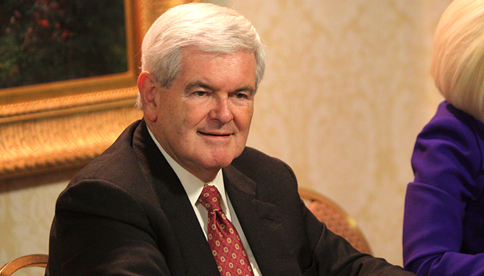 Newt Gingrich interview