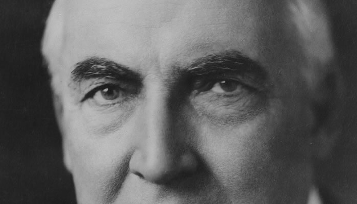 Warren G. Harding's eyebrows