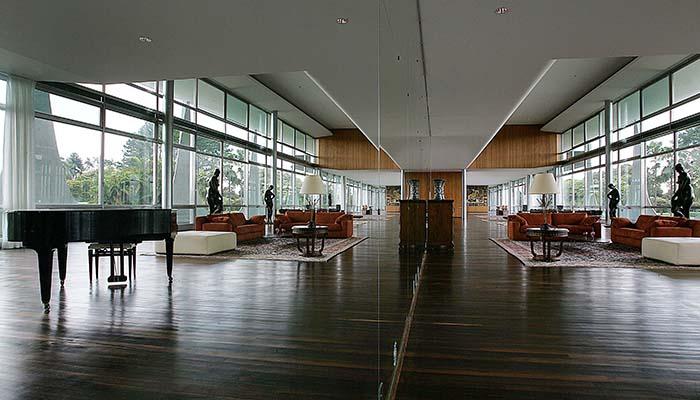 Palácio da Alvorada Music Room