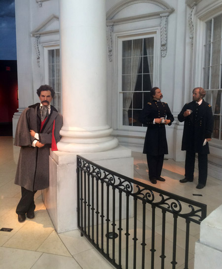 John Wilkes Booth hanging out at the Lincoln museum