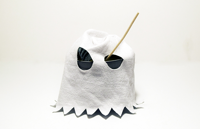 Defective Candle Halloween Costume - Ghost