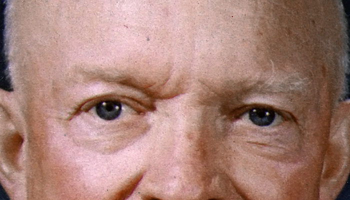 Dwight D. Eisenhower's eyebrows
