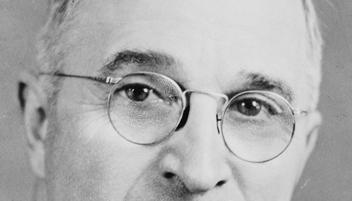 Harry S. Truman's eyebrows