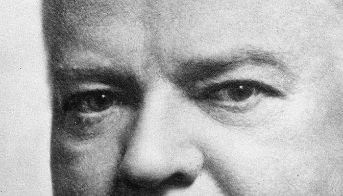 Herbert Hoover's eyebrows