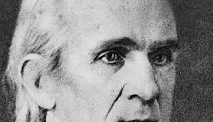 James K. Polk's eyebrows