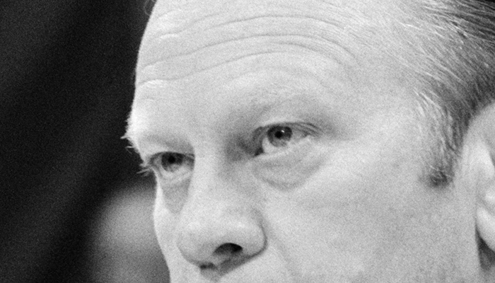 Gerald Ford's eyebrows