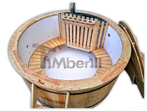 Kunststof Hottub Met Met Massagesysteem 2 Led TimberIN