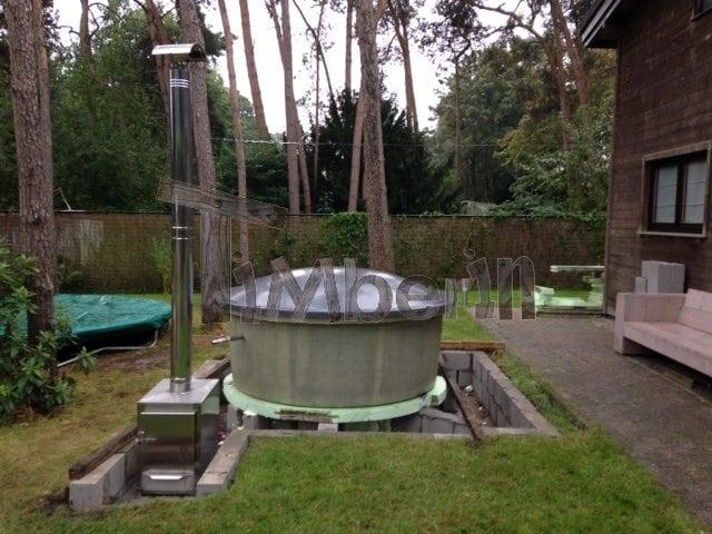 Hottub Ingraven Fiberglas Terras Model, Werner, Wuustwezel, Belgium (6)