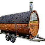 Buitenbad Sauna Met Aanhanger Kleedkamer En Harvia Oven (39)