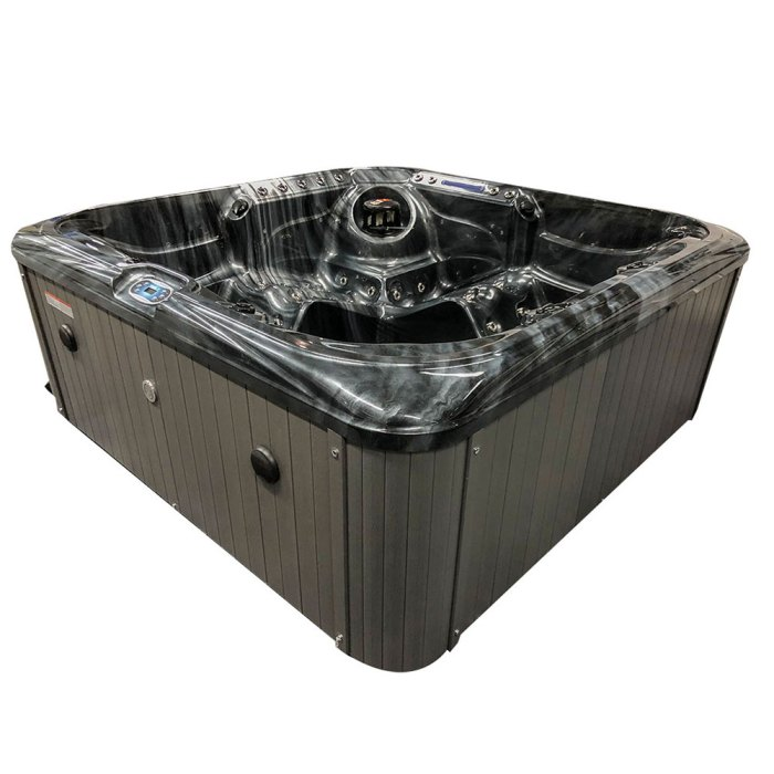 Black Stream - 5 person Hot Tub Details Images-8