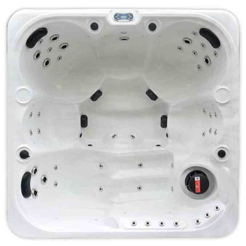 Cloud Stream - 6 Person Hot Tub Cover Image