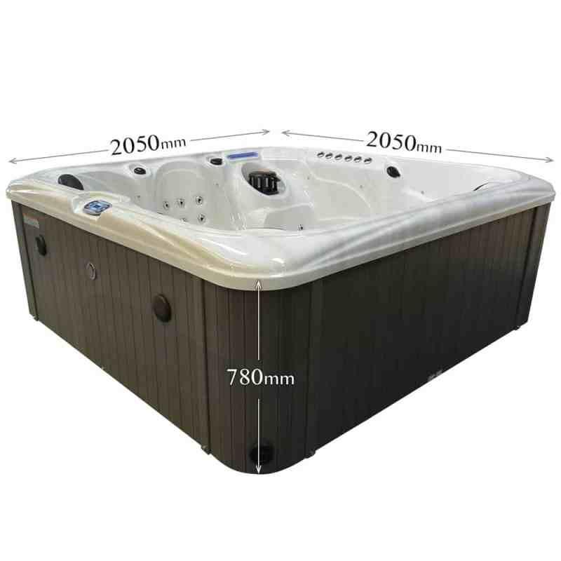 Ocean Stream Hot Tub Dimensions