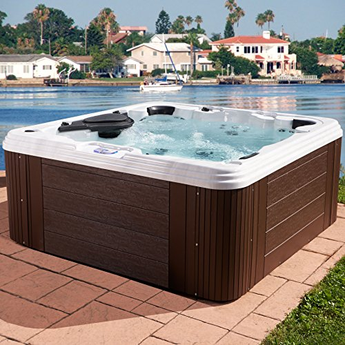 7 Person With 60 Jet Acrylic Hot Tub Family Size Large