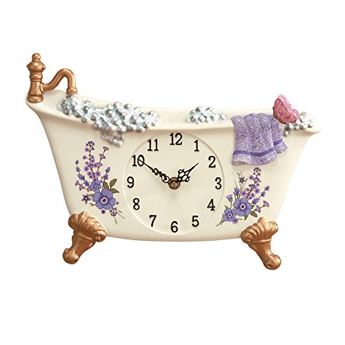 Collections Etc Lavender Claw Foot Style Bathtub
