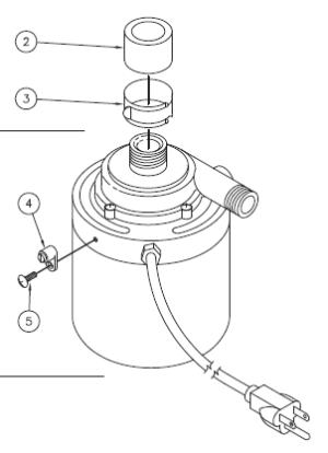 74427 E5 Single Speed Circulation Pump | Hot Spring Parts