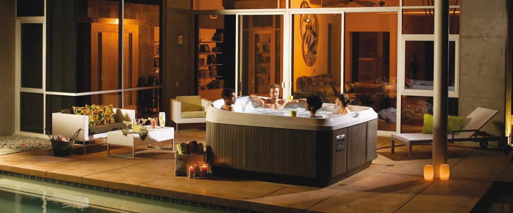 Jacuzzi J-400 series hot tubs
