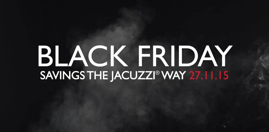 Jacuzzi® Black Friday Hot Tub Sale 2015