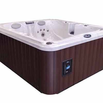 Jacuzzi J-225 hot tub side
