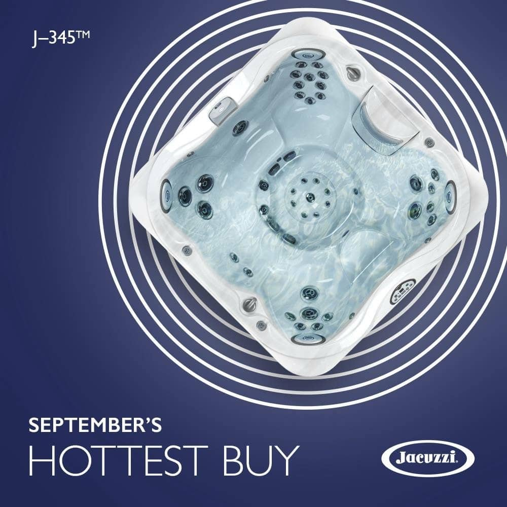 September hottest Jacuzzi Hot Tub