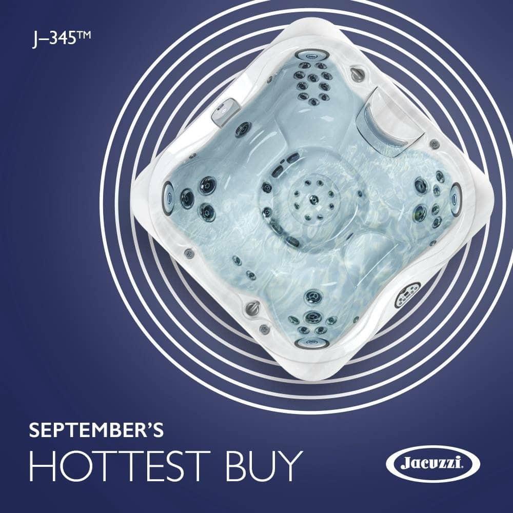 September hottest Jacuzzi Hot Tub
